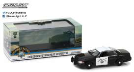 GreenLight - Ford  - gl86086 : 2008 Ford Crown Victoria Police Interceptor California Highway Patrol