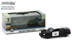 GreenLight - Dodge  - gl86087 : 2008 Dodge Charger California Highway Patrol