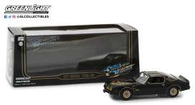 Pontiac  - Firebird Trans Am 1977 black - 1:43 - GreenLight - 86513 - gl86513 | Tom's Modelauto's
