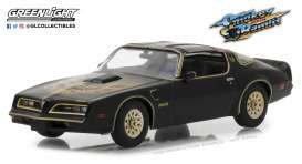 Pontiac  - Firebird Trans Am 1977 black - 1:43 - GreenLight - gl86513 | Tom's Modelauto's