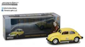 GreenLight - Volkswagen  - gl12993 : 1/18 Emma's Volkswagen Beetle *Once Upon A Time (2011-Current TV Series)*, yellow