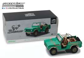 "GreenLight - Ford  - gl19034 : 1976 Ford Bronco ""Twin Peaks"" *Gas Monkey Garage (2012-Current TV)* Artisan Collection with opening doors"