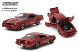 GreenLight - Chevrolet  - gl12999 : 1981 Chevrolet Z28 Yenko Turbo Z, red (Real Car Image Not Final Yet !!)