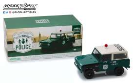 Ford  - Bronco 1967 green/white/black - 1:18 - GreenLight - gl19036 | Tom's Modelauto's