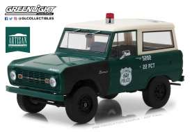 Ford  - Bronco 1967 green/white/black - 1:18 - GreenLight - 19036 - gl19036 | Tom's Modelauto's