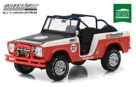 Ford  - Baja Bronco  1966 red - 1:18 - GreenLight - 19037 - gl19037 | Tom's Modelauto's