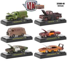 Assortment/ Mix  - various - 1:64 - M2 Machines - 32500-40 - M2-32500-40 | Toms Modelautos