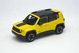 Welly - Jeep  - welly24071y : 2017 Jeep Renegade Trailhawk, yellow