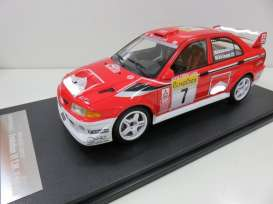 Mitsubishi  - red/white - 1:18 - One Model - one15c09-04 | Toms Modelautos