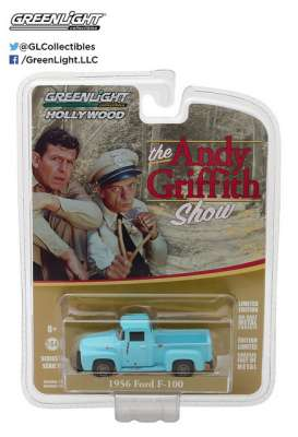 GreenLight - Ford  - gl44770E : 1956 Ford F-100 Goober *The Andy Griffith Show (1960-68 TV Series)* Hollywood series 17