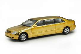 Mercedes Benz  - gold plating - 1:18 - SunStar - 4115 - sun4115 | Toms Modelautos