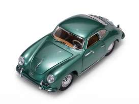 Porsche  - 356A 1500 GS Carrera GT 1957 green - 1:18 - SunStar - 1343 - sun1343 | Tom's Modelauto's