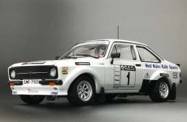 Ford  - Escort RS1800 #1 2010 white/blue - 1:18 - SunStar - 4499 - sun4499 | Toms Modelautos