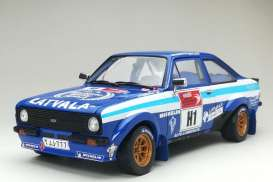 Ford  - Escort RS1800 #1 2012 blue/white - 1:18 - SunStar - 4500 - sun4500 | Toms Modelautos