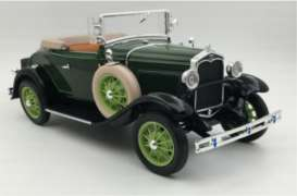 Ford  - 1931 green - 1:18 - SunStar - 6123 - sun6123 | Toms Modelautos