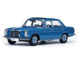 Mercedes Benz  - 1968 light blue - 1:18 - SunStar - 4573 - sun4573 | Tom's Modelauto's