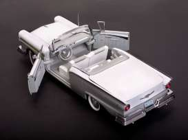 Ford  - Fairlane 500 Skyliner 1957 Wood Smoke Gray/Colonial White - 1:18 - SunStar - 1339 - sun1339 | Tom's Modelauto's