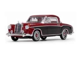 Mercedes Benz  - 220 SE Coupe 1958 red/black - 1:43 - Vitesse SunStar - 28667 - vss28667 | Toms Modelautos