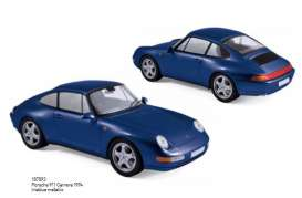 Norev - Porsche  - nor187593 : 1994 Porsche 911 Carrera, irisblue metallic