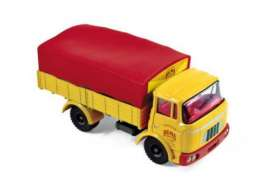 Berliet  - yellow/red - 1:43 - Norev - norCL6911 | Tom's Modelauto's