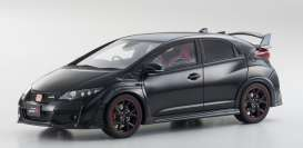 Kyosho - Honda  - kyoKSR18022bk : 2015 Honda Civic Type R *resin Samurai series*, black