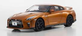 Kyosho - Nissan  - kyoKSR18020O : Nissan GT-R R35 *resin Samurai series*, orange