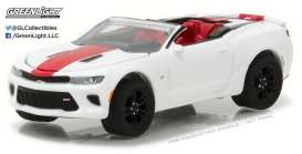 GreenLight - Chevrolet  - gl27875F : 2017 Chevrolet Camaro SS Convertible *General Motors Series 2*, white/red