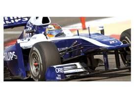 Williams Cosworth - 2010 blue/white - 1:43 - Minichamps - 417100010 - mc417100010 | Tom's Modelauto's