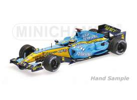 Renault  - 2006 blue/yellow - 1:43 - Minichamps - mc435060001 | Tom's Modelauto's