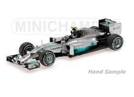 Mercedes Benz AMG - 2014 silver - 1:43 - Minichamps - 435140506 - mc435140506 | Tom's Modelauto's