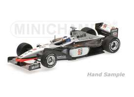 McLaren Mercedes Benz - 1998 black/white - 1:43 - Minichamps - 435980008 - mc435980008 | Tom's Modelauto's