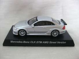 Mercedes Benz  - silver - 1:64 - Kyosho - 64CLK-DTMs - KYO64CLK-DTMs | Tom's Modelauto's