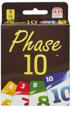 Mattel Games - Games Kids - MatFFY05 : Phase 10 the fun and exciting card game for the whole family.