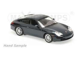Porsche  - 2001 black - 1:43 - Maxichamps - mc940061020 | Tom's Modelauto's