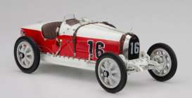 Bugatti  - 1924 red/white - 1:18 - CMC - 100-007 - cmcB007 | Tom's Modelauto's