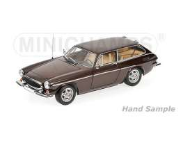 Minichamps - Volvo  - mc100171615 : 1971 Volvo P1800 ES, brown metallic