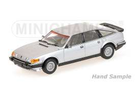 Minichamps - Rover  - mc107138402 : 1986 Rover Vitesse 3.5 V8 *Resin Series*, silver