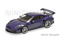 Porsche  - 2013 ultraviolet - 1:18 - Minichamps - mc155066221 | Tom's Modelauto's