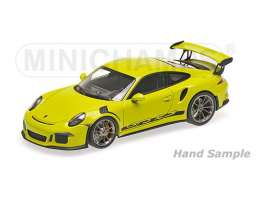 Minichamps - Porsche  - mc155066222 : 2013 Porsche 911 GT3 RS (991), light green