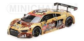 Audi  - R8 2016 beige/brown - 1:18 - Minichamps - 155161188 - mc155161188 | Tom's Modelauto's