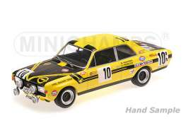 Minichamps - Opel  - mc155704610 : 1970 Opel Commodore A Steinmetz Kauhsen/Frohlich 24H Spa, yellow/black