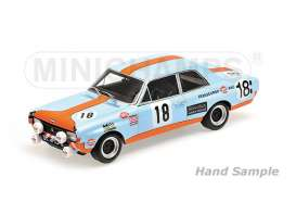 Opel  - 1971 gulf blue/orange - 1:18 - Minichamps - 155714618 - mc155714618 | Tom's Modelauto's