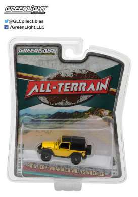 GreenLight - Jeep  - gl35070F : 2015 Jeep Wrangler Willys Wheeler *All Terrain Series 5*