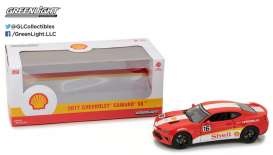 GreenLight - Chevrolet  - gl18239 : 2017 Chevrolet Camaro SS *Shell Oil*