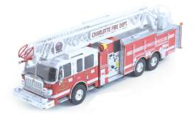 Ixo Premium X - Fire Engines  - ixPRDTRF001 : 1/43 US Fire Leader by Smela from Charlotte, red