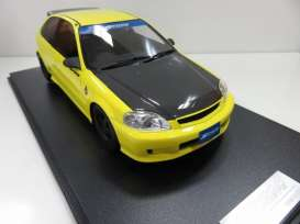 One Model - Honda  - one16B06-08 : Honda Civic Type-R EK9 *Spoon version*, yellow/black