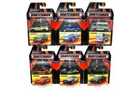Matchbox - Assortment/ Mix  - hwmvDKC59-956A~12 : 1/64 Matchbox cars of the World series. Mix box of 12