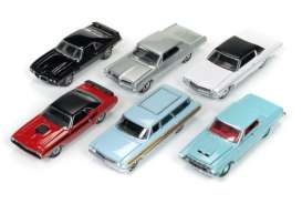 Auto World - Assortment/ Mix  - AW64052C~6 : 1/64 Autoworld Premium series mix of 6.