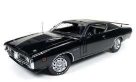 Dodge  - 1971 black - 1:18 - Auto World - AMM1107 | Tom's Modelauto's