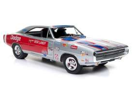 Dodge  - Charger R/T *Dick Landy* 1970 silver/red - 1:18 - Auto World - 238 - AW238 | Tom's Modelauto's